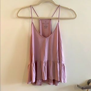 American Eagle pink tank